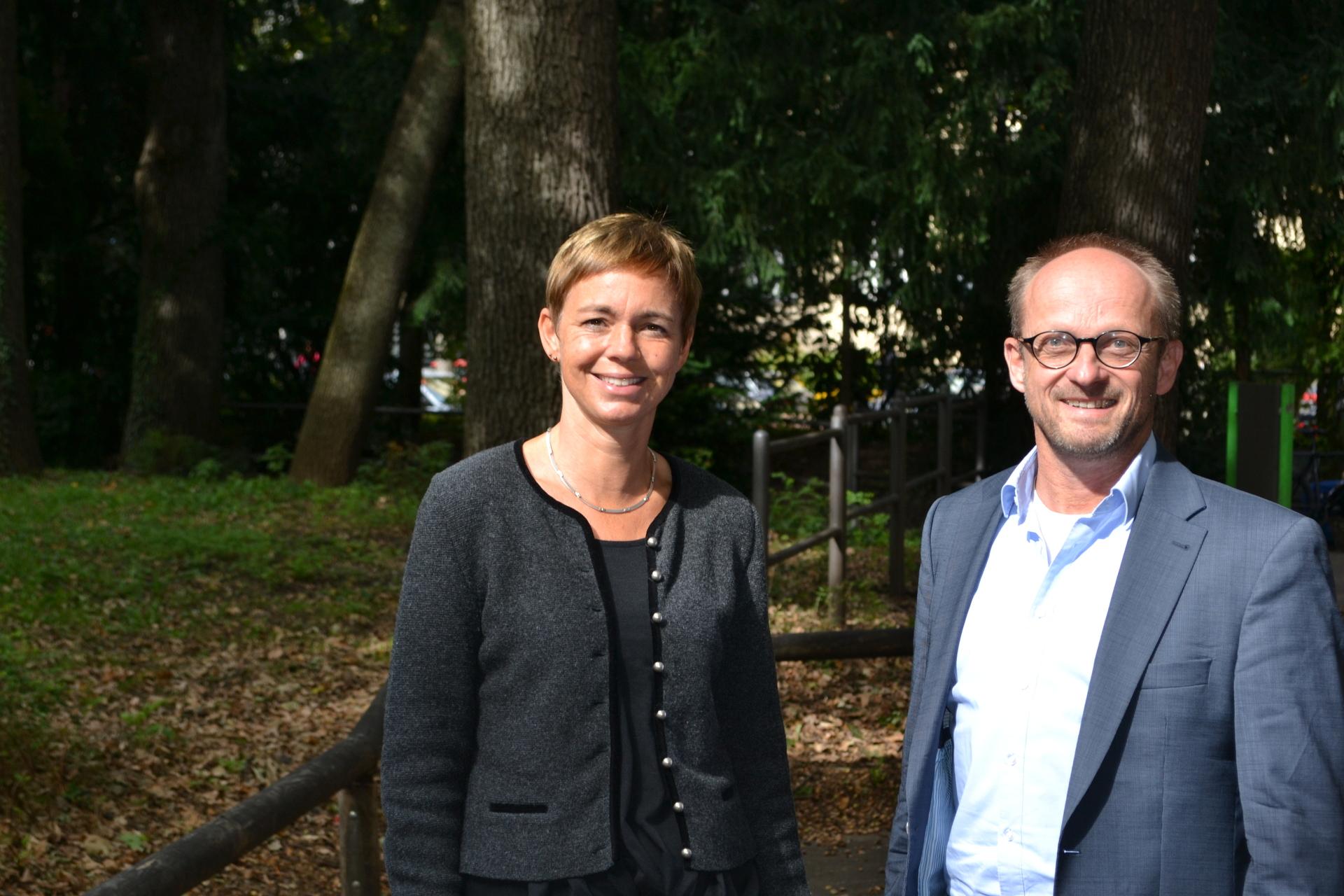 Doris Wild und Karsten Schaller