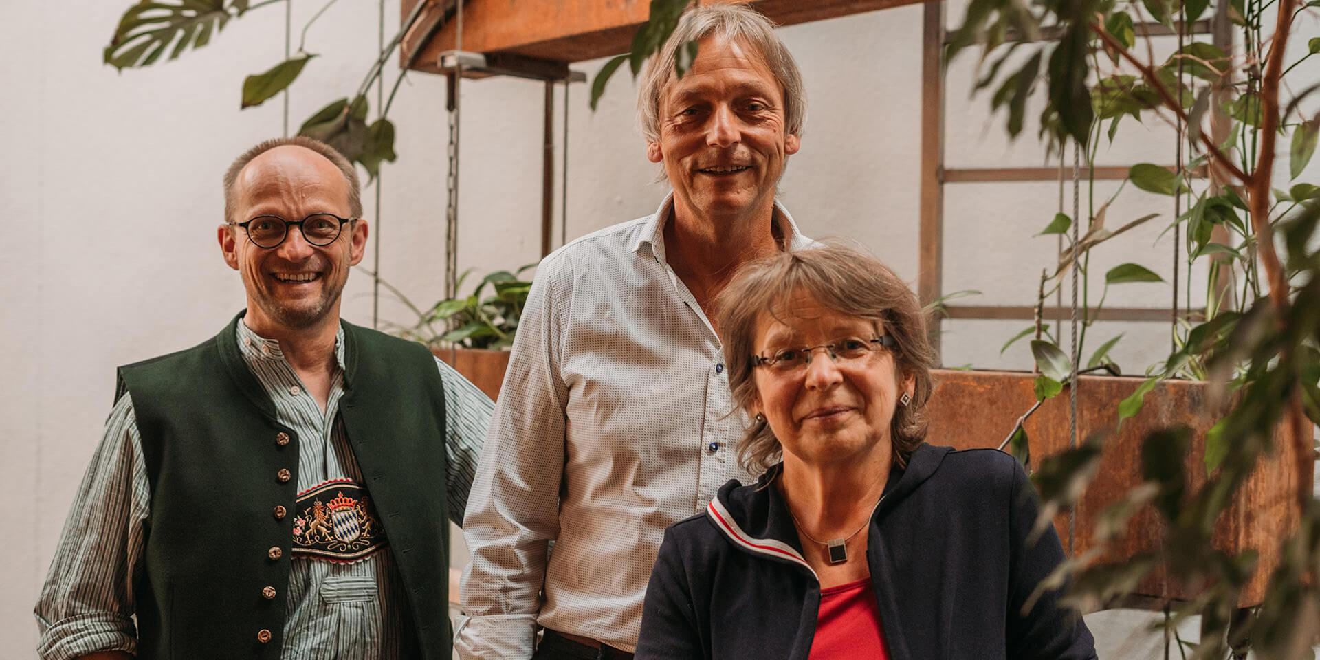 Karsten Schaller, Oliver Schürrle und Carloa Schürrle.