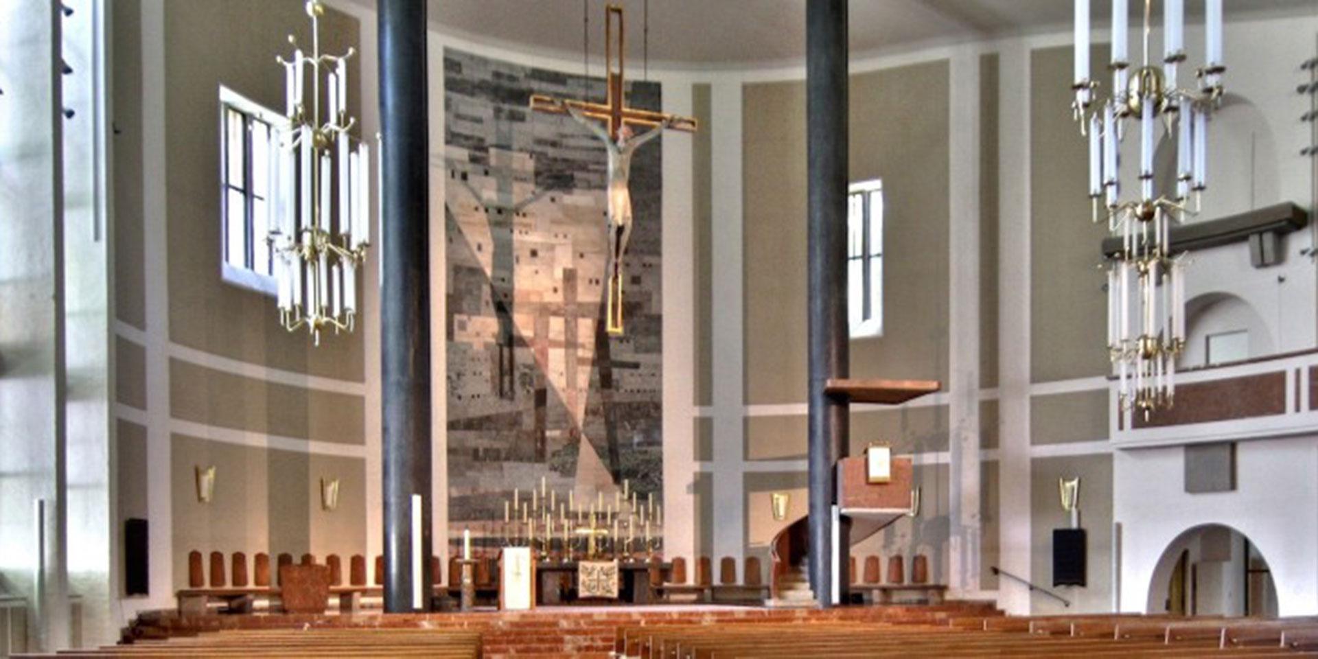 Innenansicht, Evangelische Haupt- und Bischofskirche St. Matthäus